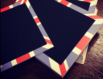 JBW1 - Union Jack Chalkboard Tickets - 81x63mm